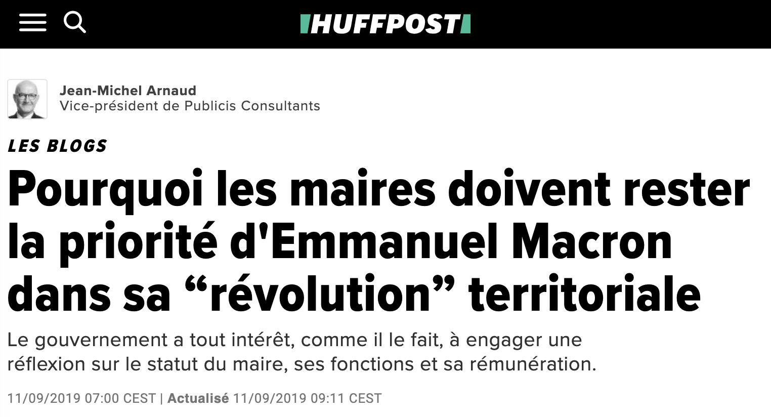 """Pourquoi les maires doivent rester la priorité d'Emmanuel Macron dans sa """"révolution"""" territoriale"""