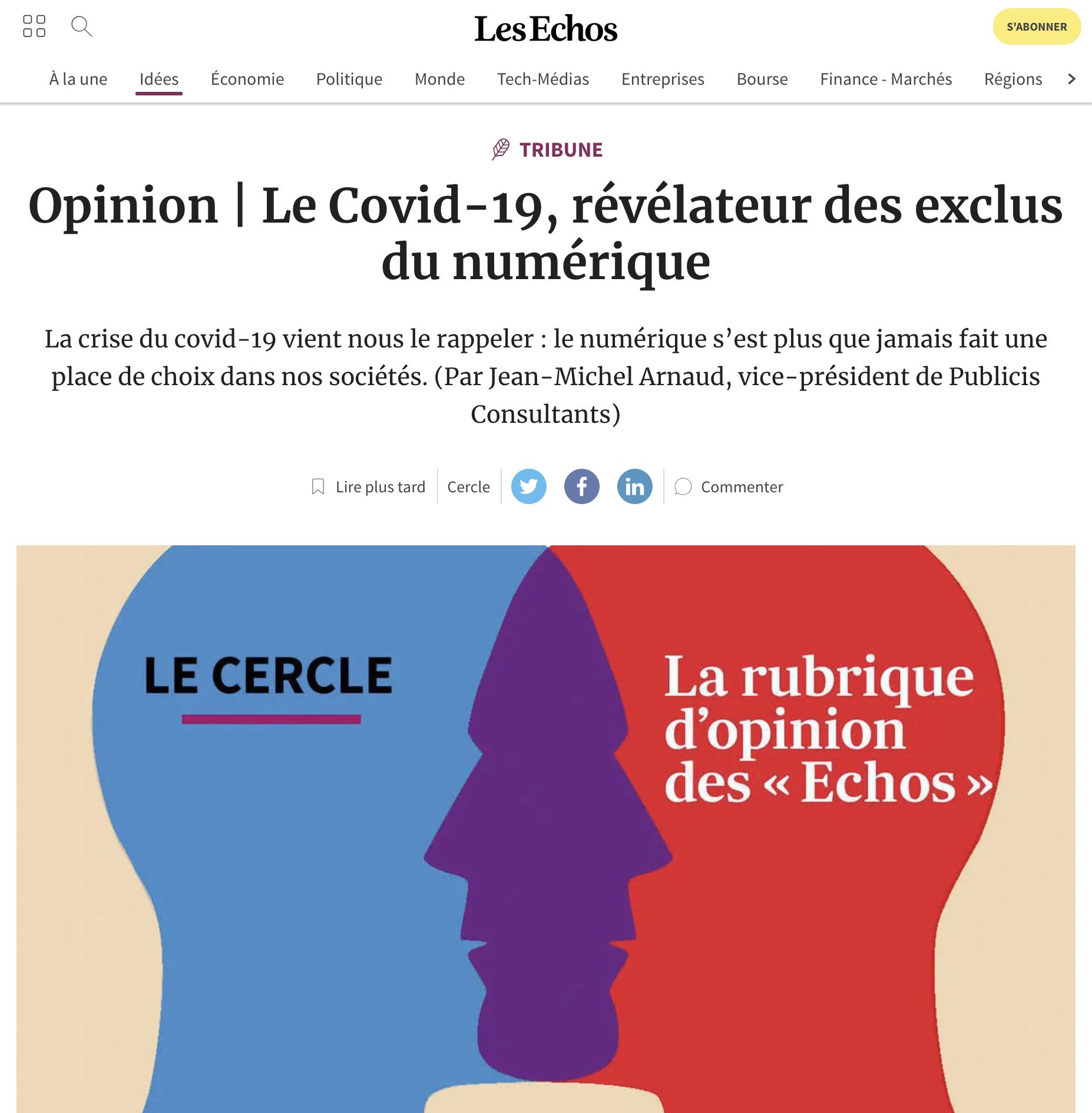 Le Covid-19, révélateur des exclus du numérique