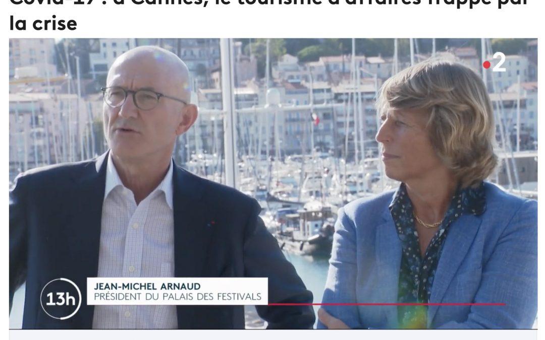 Covid-19 : à Cannes, le tourisme d'affaires frappé par la crise