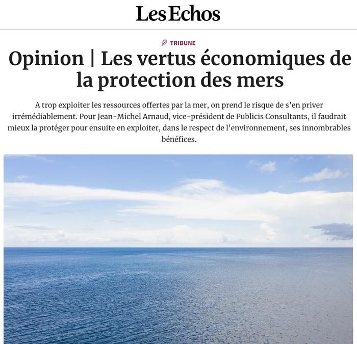 Les vertus économiques de la protection des mers